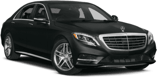 Black Mercedes S Class Rental in NYC