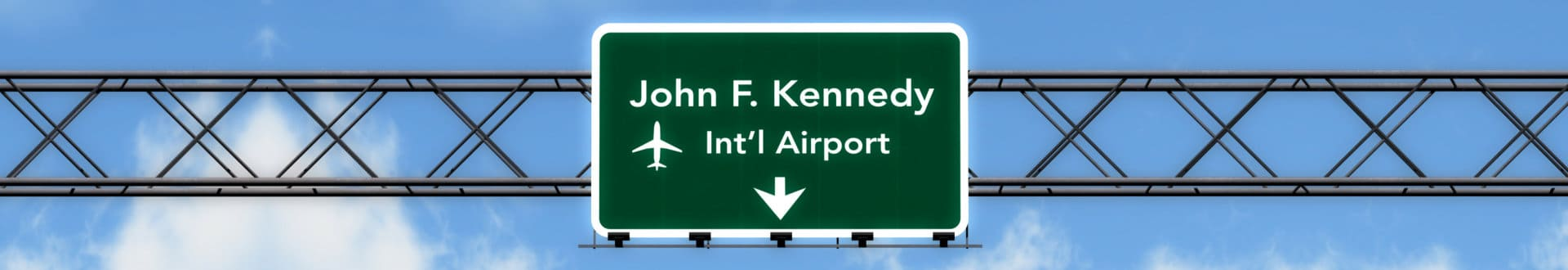 JFK Airport Sign